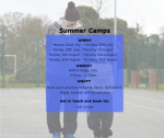 Sports 121 Summer Camps