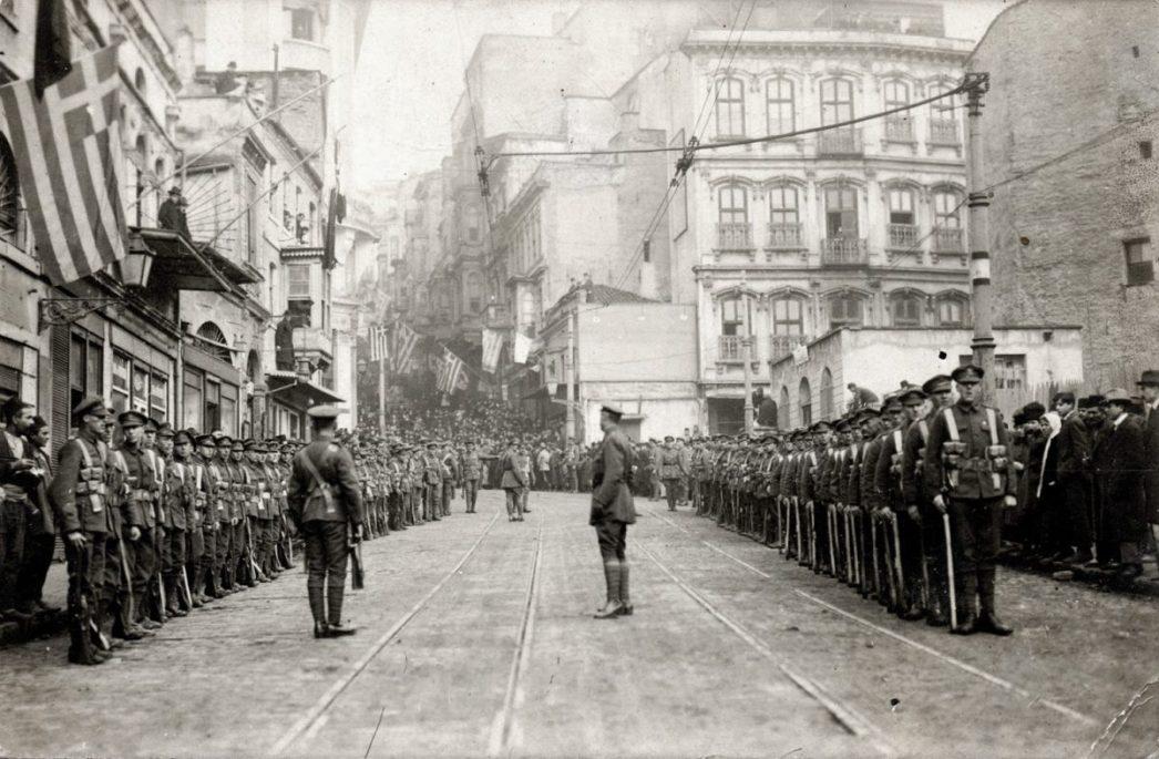 1910s Istanbul British Army
