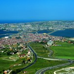 Aerial view of Büyükçekmece