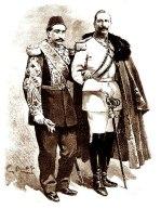Abdulhamid II and Wilhelm II