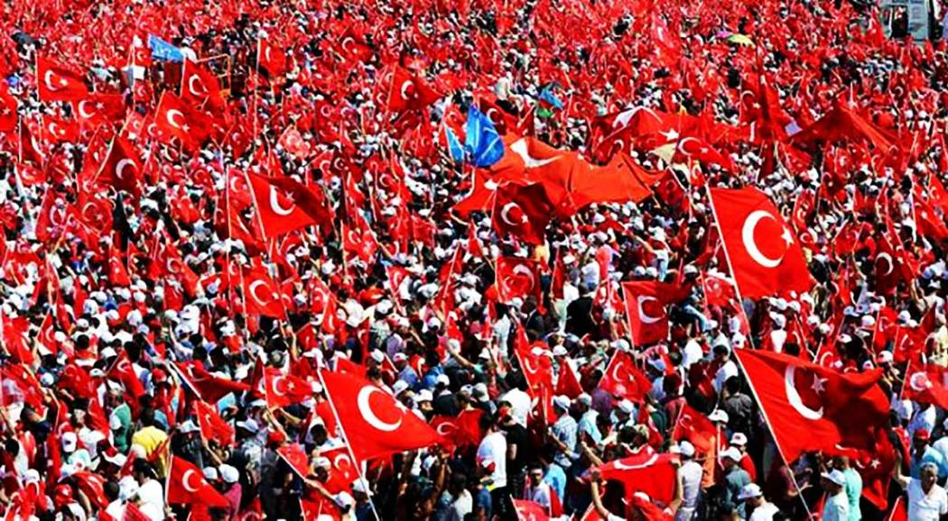 Anti-coup Rally Istanbul