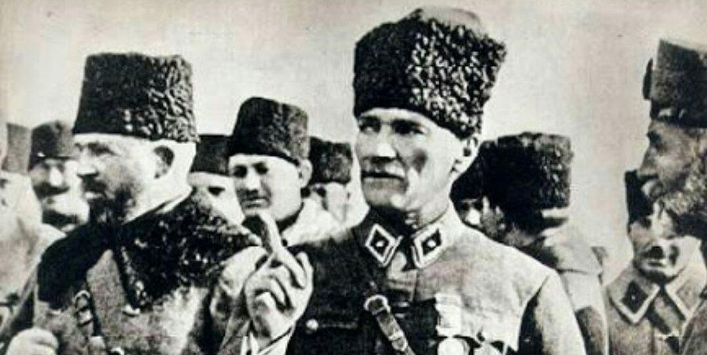 Atatürk in the military