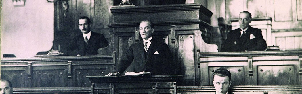 Atatürk in the Parliament