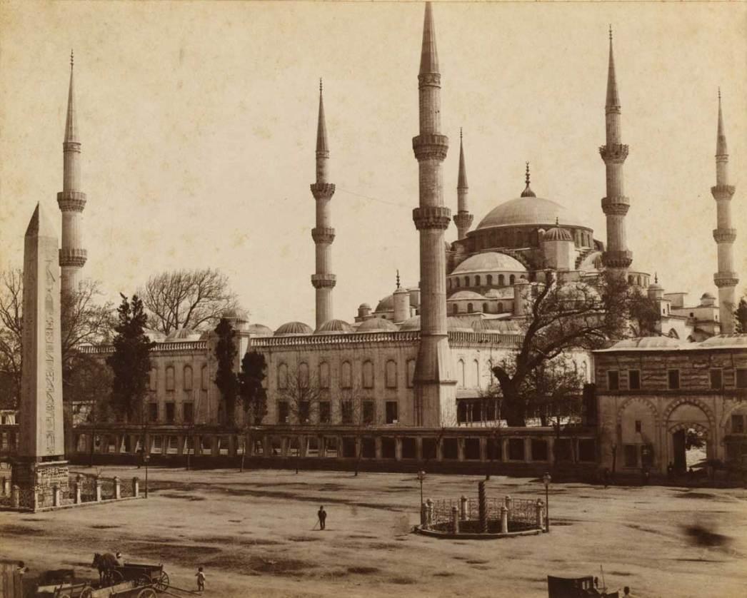Blue Mosque 1950s