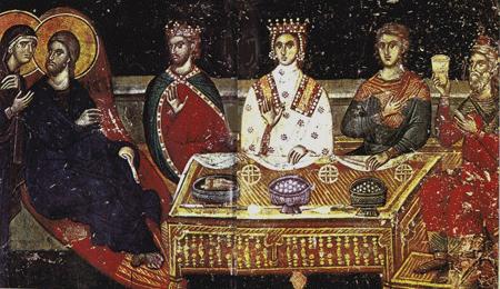 Byzantine dining