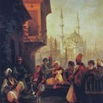 Coffee house by the Ortaköy Mosque, Ivan Aivazovsky