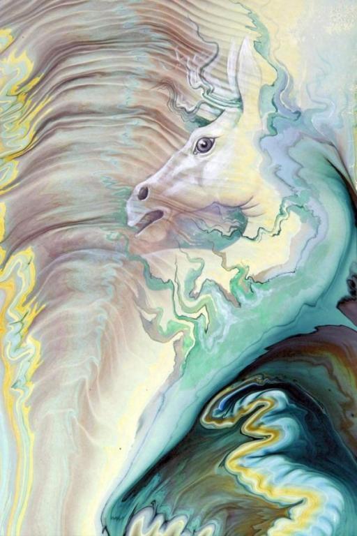 Ebru Horses