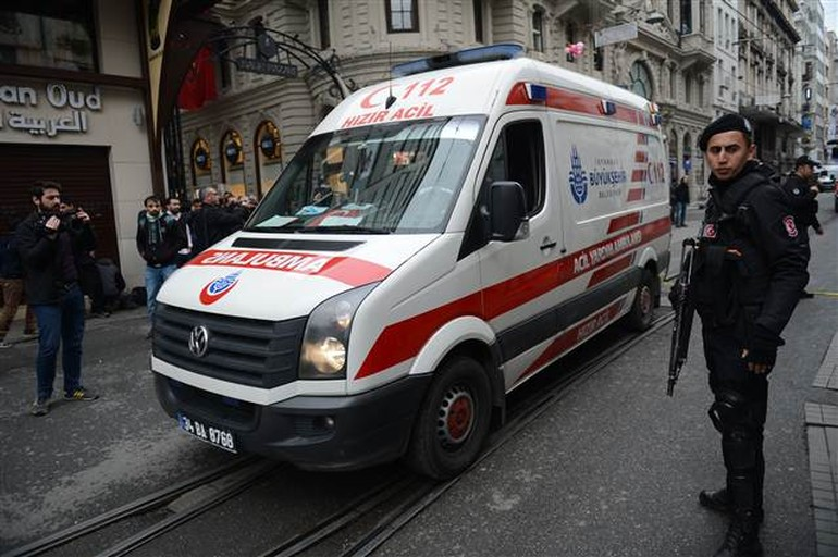 Explosion at İstiklal Street