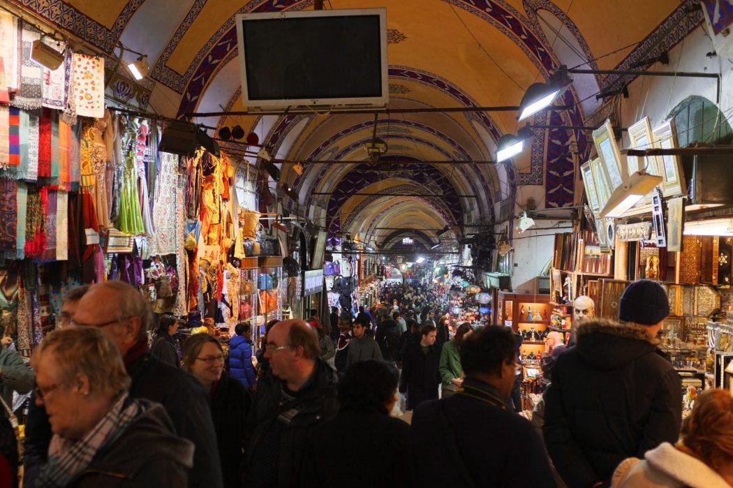 Grand Bazaar Istanbul Inside
