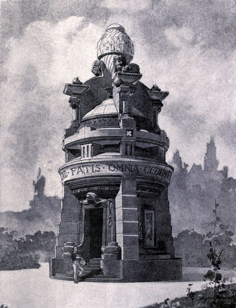 His Design for a Mauselum in İstanbul