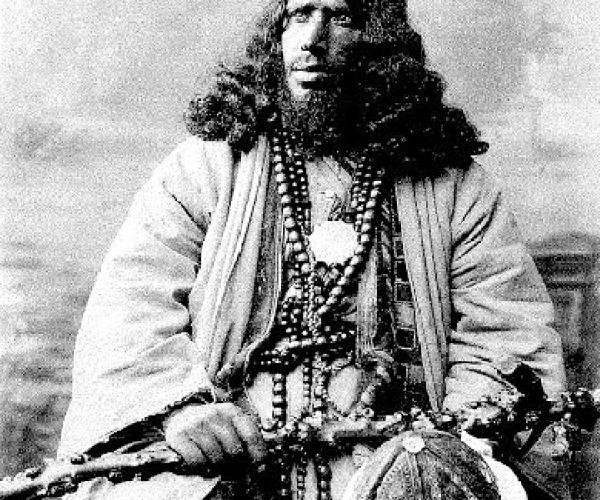 Howling dervish, Egypt, around 1875