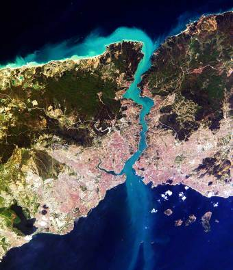 Istanbul and Bosphorus Strait