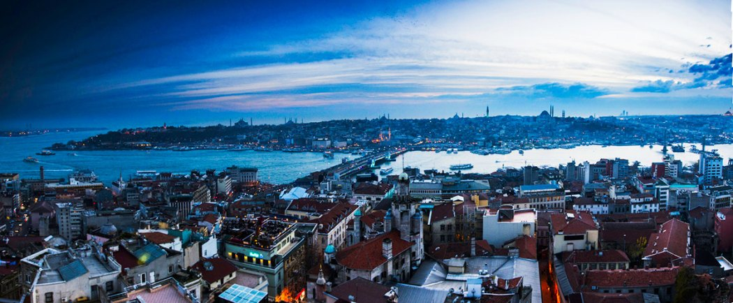 Istanbul Panorama Golden Horn