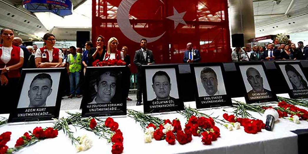 June 28 2016 Atatürk Airport Three Attacks