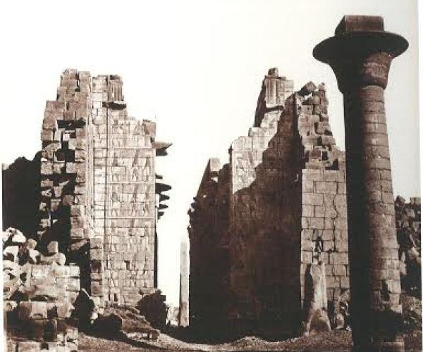 Karnak, Egypt, around 1873