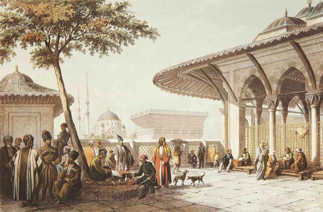 Kılıç Ali Pasha Mosque by Giovanni Jean Brindesi