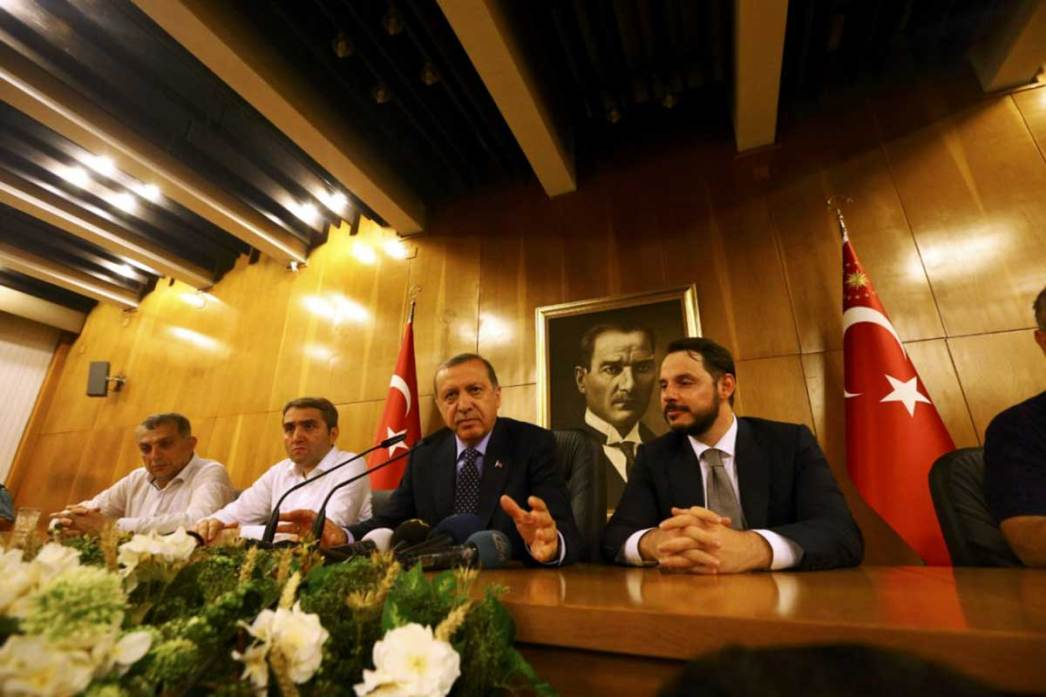 President Erdoğan made a second statement about coup