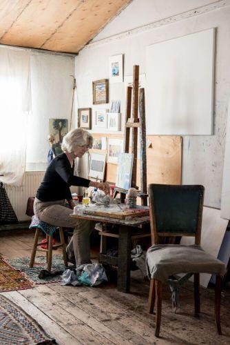 Swiss Painter Ursula Katipoglu