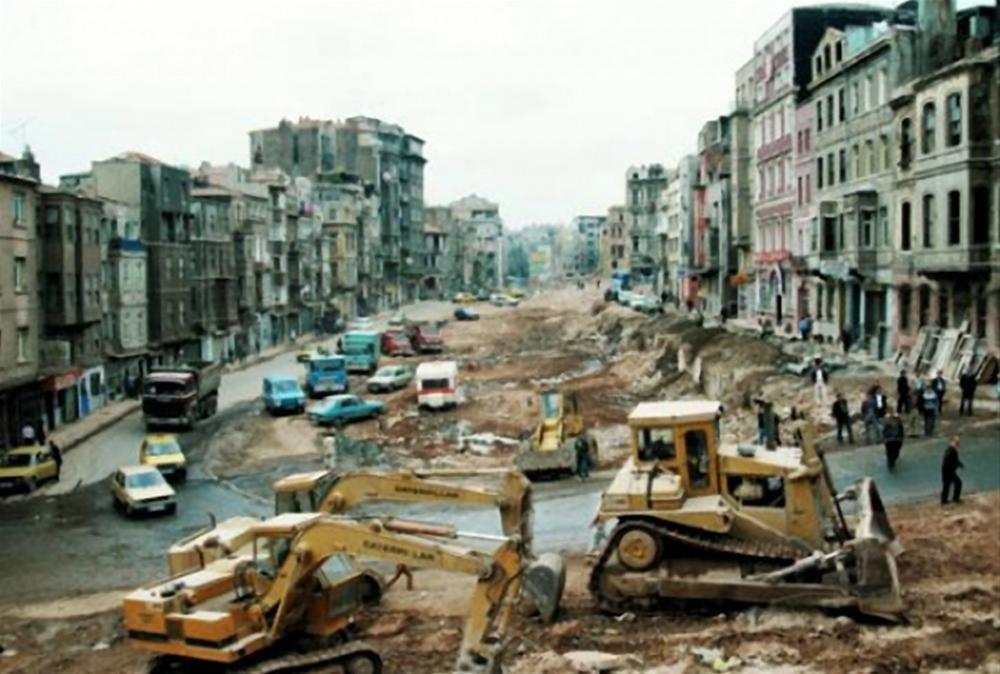"""Tarlabasi Demolitions"" in the 1980s"