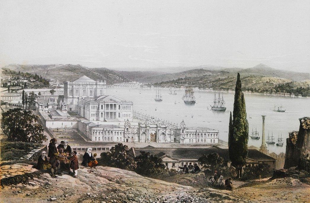 The Dolmabahçe Palace by Joseph Schranz