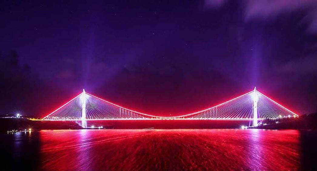 Third Bridge Over Bosphorus İstanbul