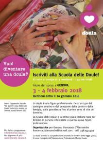 Presentazione Corso Scuola delle Doule di Mondo Doula a Genova @ CASA MATERNITA' LE MAREE | Genova | Liguria | Italia