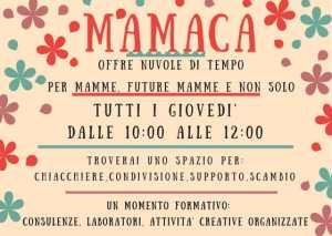MAMACA, nuvole di tempo per mamme future mamme e non solo @ Associazione Macramé | Bogliasco | Liguria | Italia