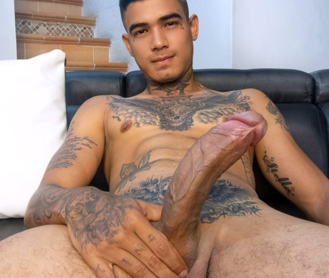 Latin American Site Latinboyz Got Really Impressive Collection Of Guys With Absurdly Huge Dicks So Its Not Surprising That Their Latest Tatted Twink Jacob