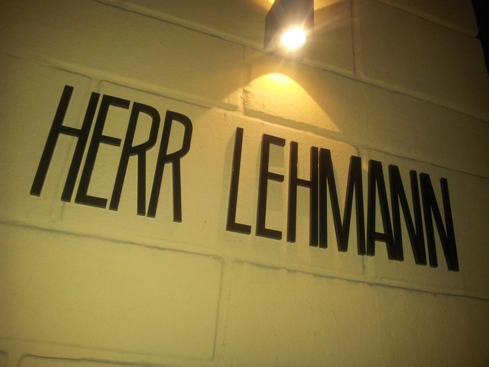 Herr Lehmann Bonn
