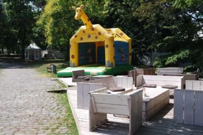 Biergarten Kunstrasen Bonn Rheinaue