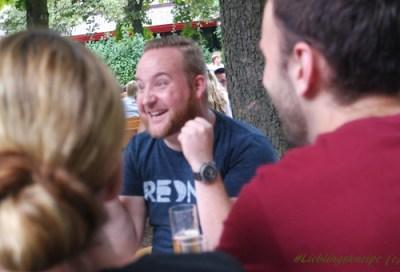 Lieblingskneipe Bonn Rednib Blauer Affee Biergarten am Rhein