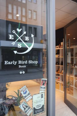 Early Bird Café Shop Bonn Bad Godesberg Craftbeer besonderer Gin Whiskey Rum gemütlich