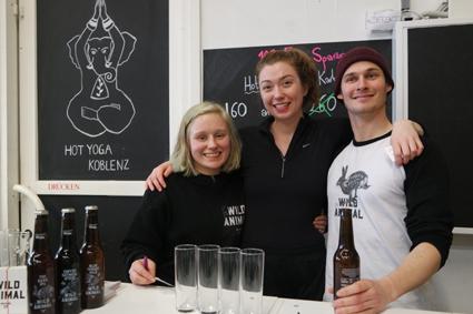 Wild Animals Brewing Craft Beer Koblenz Michael & Chloe Stanzel Blue Thoat Pils The Hare IPA Craftbeer Rheinland