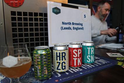 North Brewing Leeds Craft Beer Festival Düsseldorf Crafters Britische Biere Craftbier Rheinland