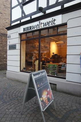 Bierweltweit Siegburg Craftbeer Store Fachgeschäft Bier wo kann man gut Bier kaufen
