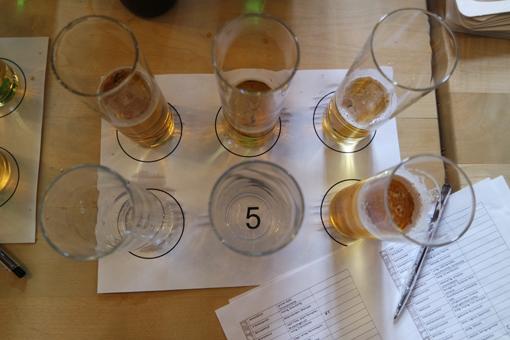 Craft Beer Qualität testen Fehlaromen Bier Aroma Vielfalt wann schmeckt ein Bier schal