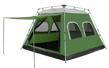 live in a four season tent