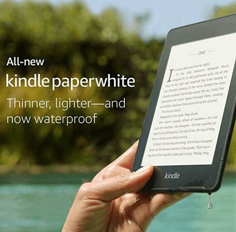 kindle paperwhite gift