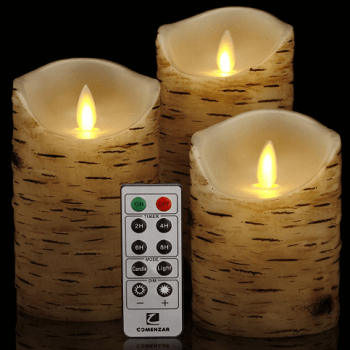 modern led candle set