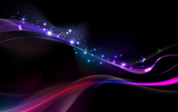 Amazing Abstract Glowing Vector Background WeLoveSoLo