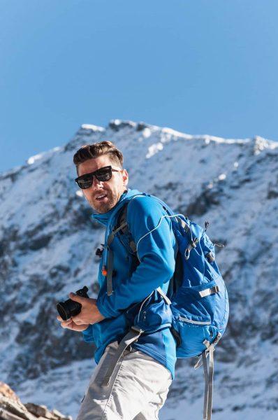 Stavros shooting photos in Colorado