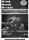 Welsh Bands Weekly Issue 1 cover (English)