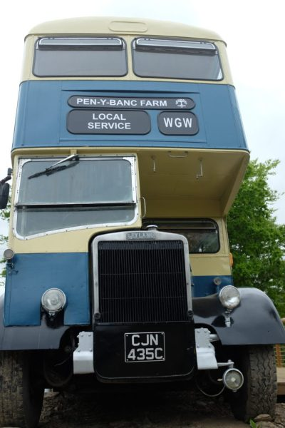 bus accommodation at ceridwen centre