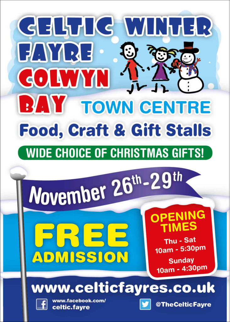 This year's Celtic Winter Fayre in Colwyn Bay is fast ...