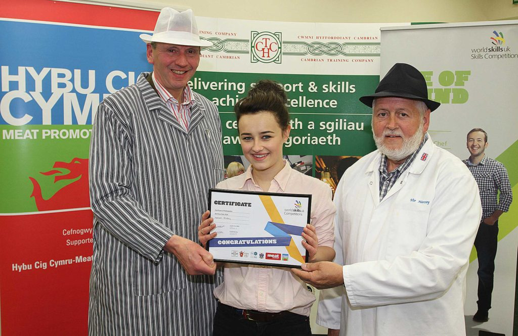 WorldSkills butchery competition