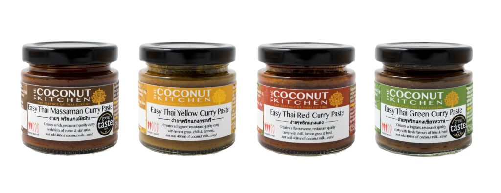 The Coconut Kitchen Wins 2 More Awards for its New Curry Pastes at the 2016 Awards!