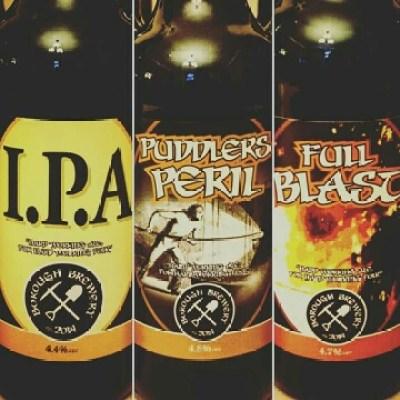 borough brewery bottles