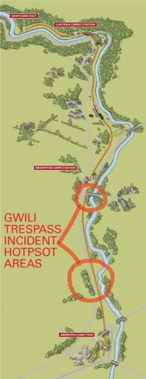 gwilli railwy map
