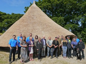 castell henllys group shot