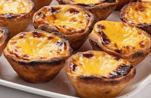 portugese tarts at penarth farmers market